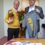 Betongföreningen framför ett försenat grattis till sin ordförande Michael Åhström som fyllt 60 år. Grattis!
