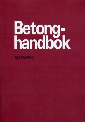 Betonghandbok material