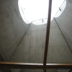Gyldendalhuset. Pyramiderna är sammansatta av prefabricerade betongelement. Foto: Anita Stenler