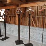 Hamar. Utställning av seltyg. Också utställningen har blivit minnesförklarad och får inte ändras. Foto: Sussie Schwab