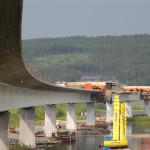 Bro över Ångermanälven. Foto: Kjell Wallin