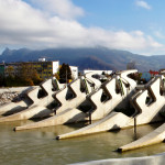 Bild 5: Lehen Riverbed Sill Power Plant, Österrike.