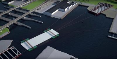 Detalj ut youtubeklippet Marieholmstunneln – En sänktunnel under Göta älv | Trafikverket